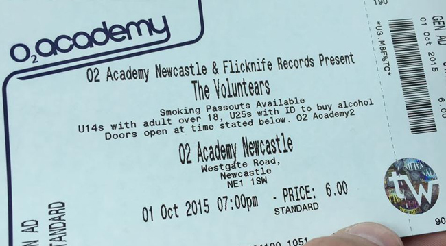 Voluntears Ticket