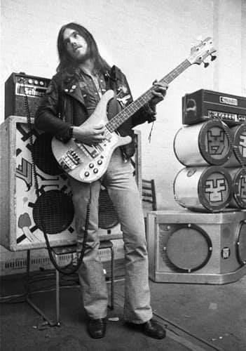 Lemmy with Hawkwind 1973